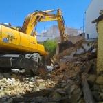 Demolición en Calle Ancha Conil