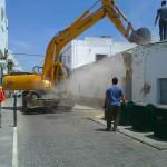 Demolición en Calle Pascual Junquera Conil